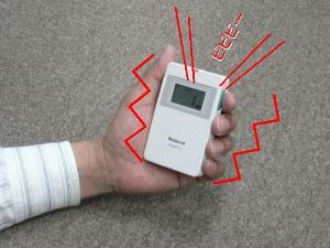 小電力型ワイヤレスコール携帯型受信器セット(AYL-FCP013)